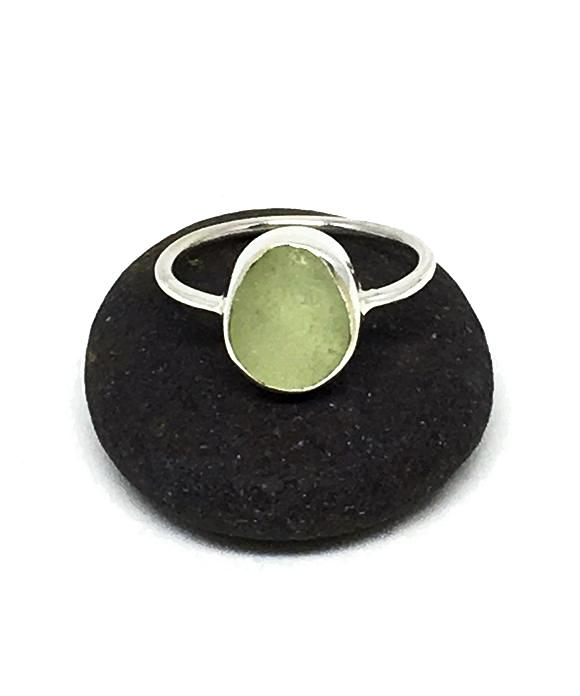 Soft Sage Green Sea Glass