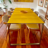 Luna Dining Table by Gandia Blasco Spain through Hub