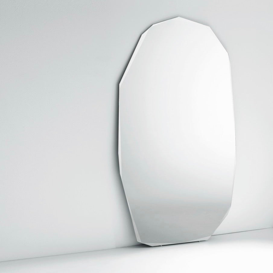 Kook-I-Noor Standing Mirror by Piero Lissoni for Glas Italia (Small)