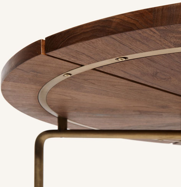 CB-35 Circular Dining Table by Bassam Fellows through HUB