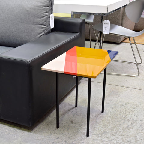 Fishbone Side Table by Patricia Urquiola for Moroso through HUB