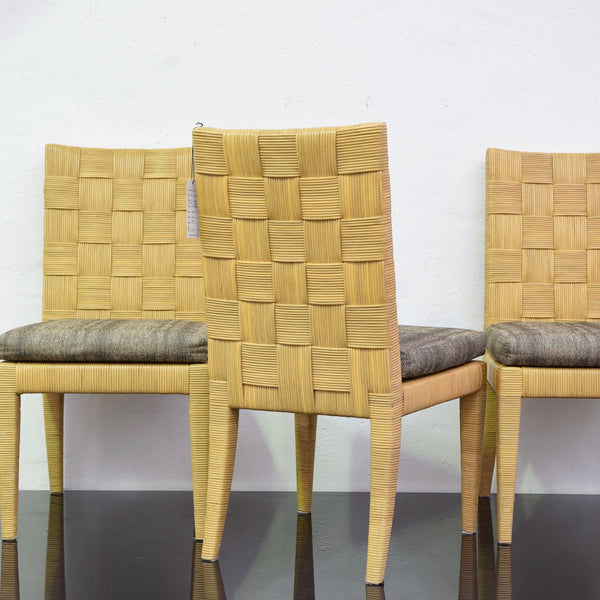 Set of SIX Block Island Chairs by Donghia