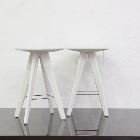 ICS Barstool by Rodrigo Torres for Poliform - White