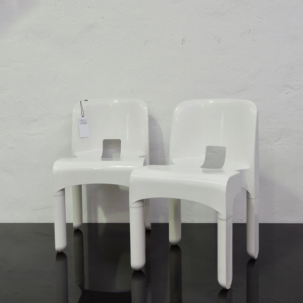 Set of FOUR Universal Chairs by Joe Colombo by Kartell