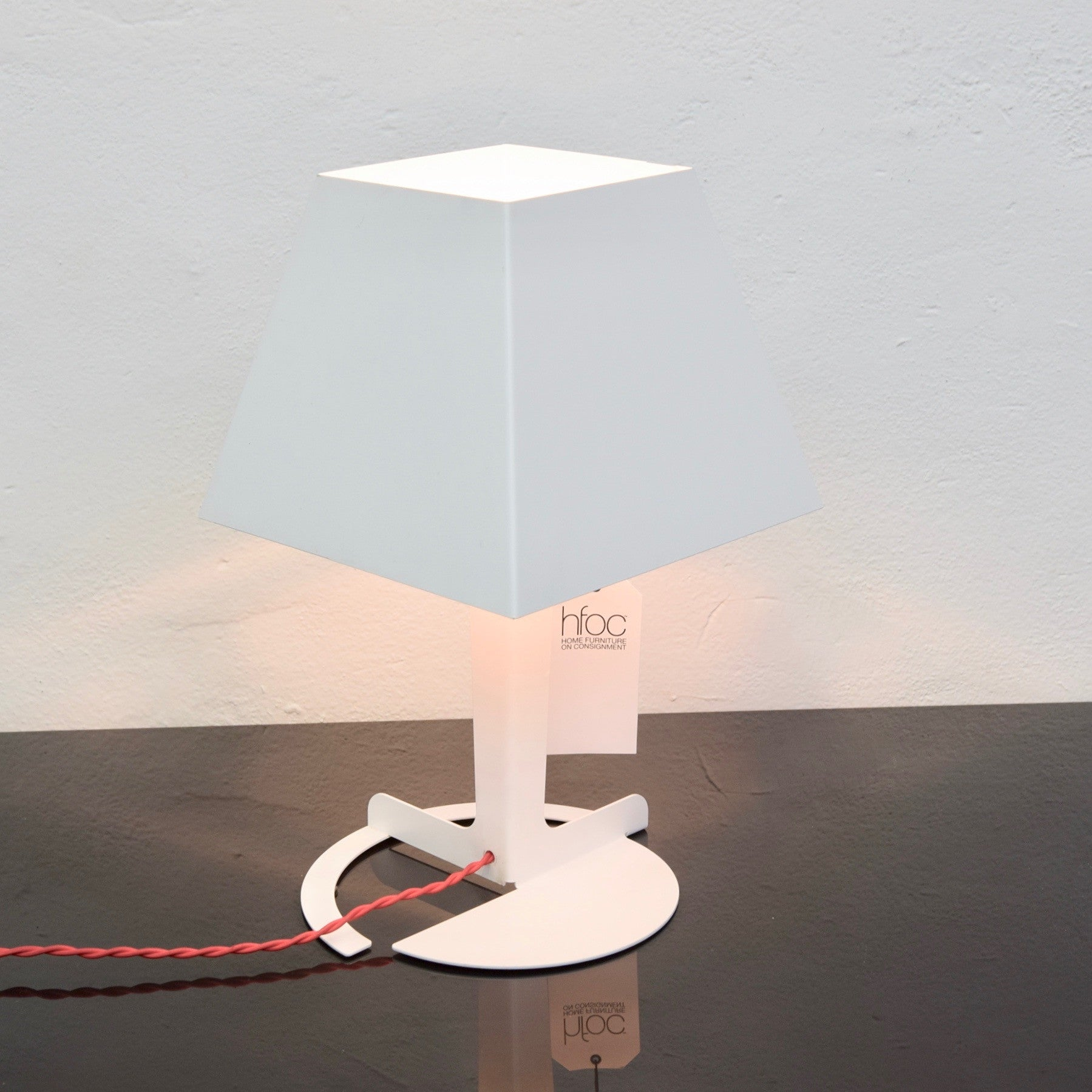 Fold Table Lamp by Alexander Taylor for Established & Sons