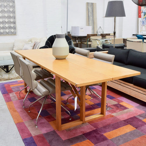 Vintage Folding Table by Calligaris through Artes Studio (Light Oak)