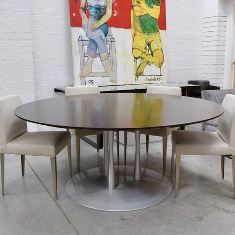 UGI Cubed Dining Table by Thomas Jacobsen - Mikasa Veneer
