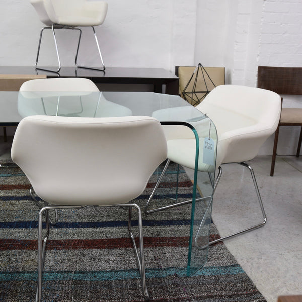 Set of FOUR Hobnob Chairs by Sebel
