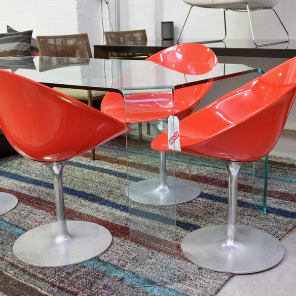 Set of FOUR Ero|S| Chairs by Philippe Starck for Kartell