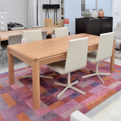 Hugo Extension Dining Table by Norman & Quaine