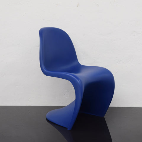 Panton Chair by Vitra - Blue