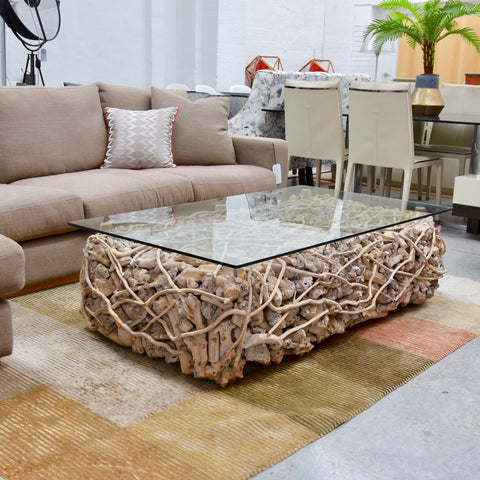 Driftwood Coffee Table through Coco Republic