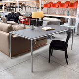 Leather Top Desk by Zanotta