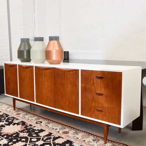 Mid Century Sideboard with Two Pack Finish