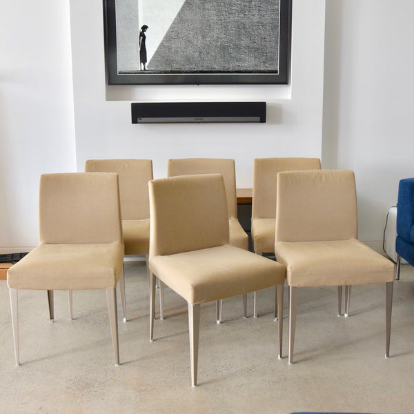 Set of SIX Melandra Dining Chairs By Antonio Citterio for B&B Italia