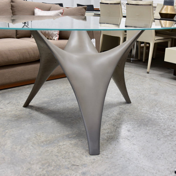 Arc Table by Sir Norman Foster for Molteni - Oval Top