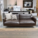 Two Seat Leather Sofa by Fanuli