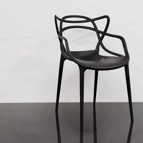 Set of FOUR Master Chairs by Philippe Starck with Eugeni Quitllet for Kartell