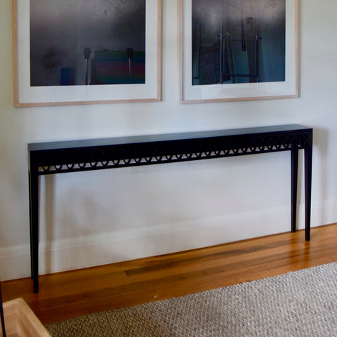 Contessa Skinny Console Table by James Salmond