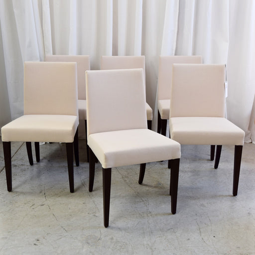 Set of SIX Mira Dining Chairs through Space