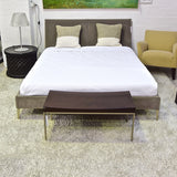 Selene Queen Size Bed by Antonio Citterio for Maxalto (B&B Italia)