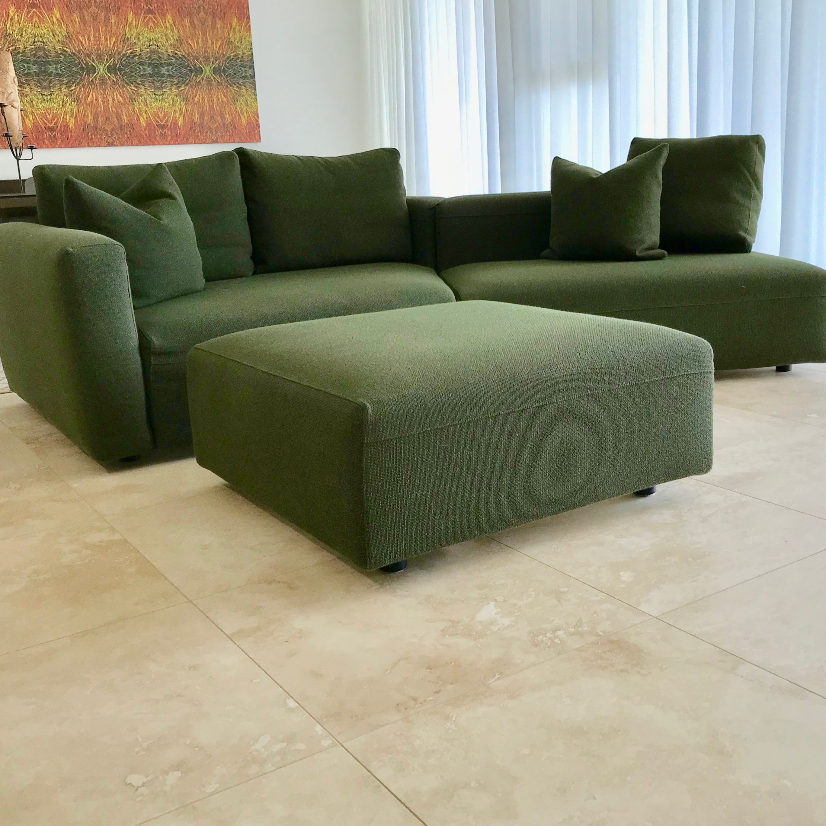 Party Sofa by Gabriele Rosa for Zanotta