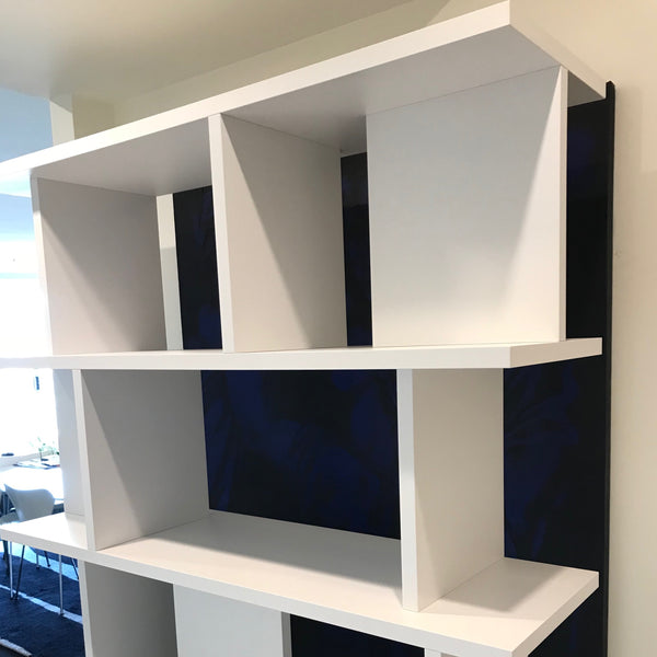 E15 SH05 Arie Shelving System through Living Edge