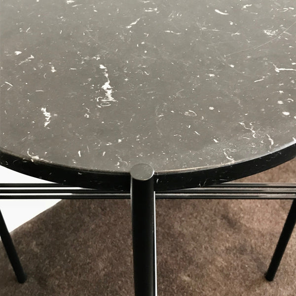 TS Marble Top Side Table by Gubi through Pond