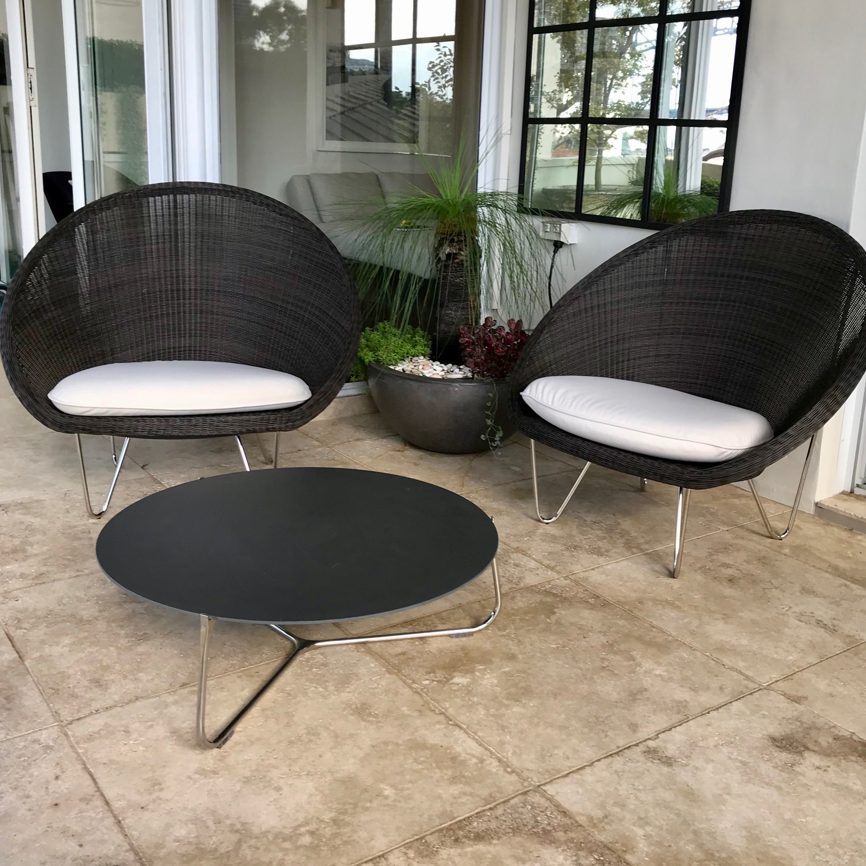 Cocoon Indoor / Outdoor Chair by Vincent Sheppard (2 available)