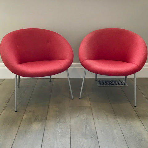 PAIR 369 Chairs by Walter Knoll