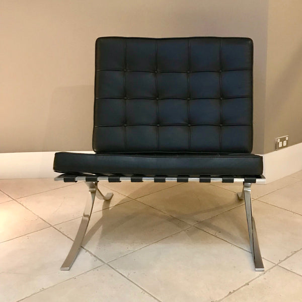 Barcelona Chair by Ludwig Mies van der Rohe for Knoll