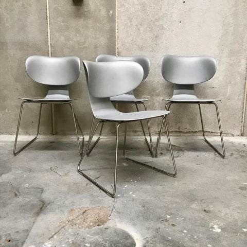 Set of FOUR Maxima Chairs by William Sawaya for Sawaya & Moroni (2 sets available)