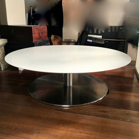 Quiet Round Coffee Table by Jephson Robb for Bernhardt