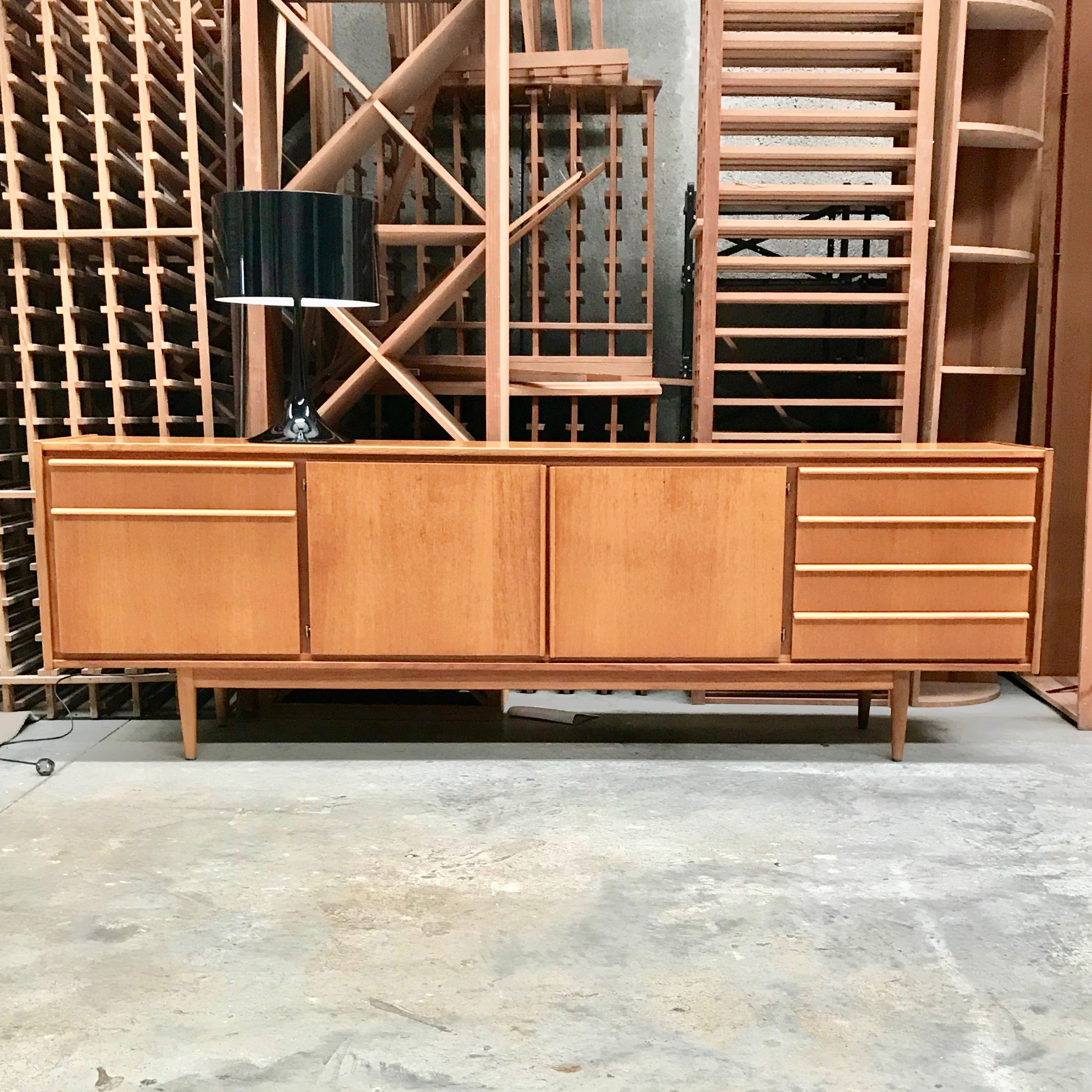 Vintage Epic Teak Sideboard by Tony Parker for Parker Furniture