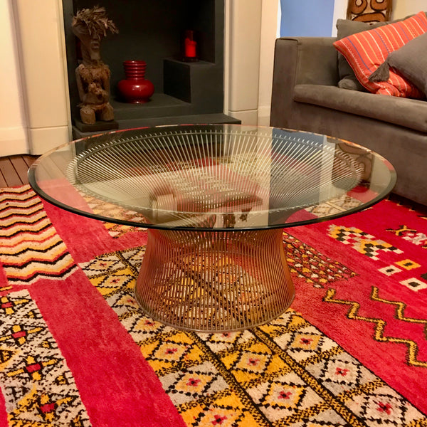 Vintage Platner Coffee Table by William Platner for Knoll