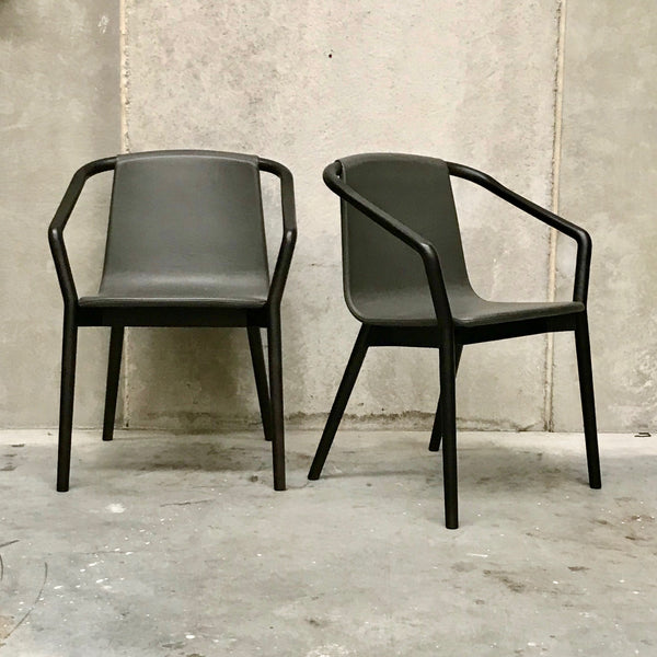 PAIR of Thomas Chairs by Metrica for SP01 - Leather