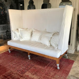 Neoz Three Seat High Back Sofa by Philippe Starck for Driade