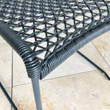 Set of SIX Vela Outdoor Dining Chair by  Hannes Wettstein for Potocco Italy
