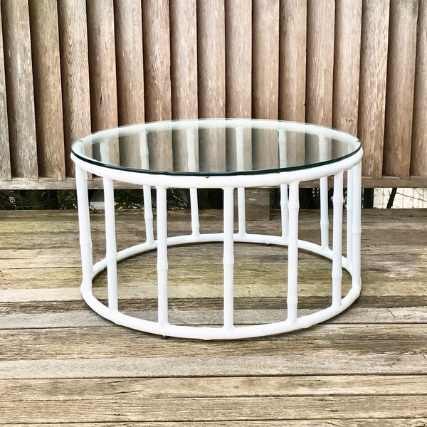Foxy Faux Bamboo Coffee Table by Robert Plumb