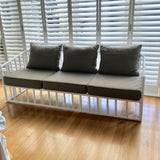 Bella Faux Bamboo Sofa by Robert Plumb
