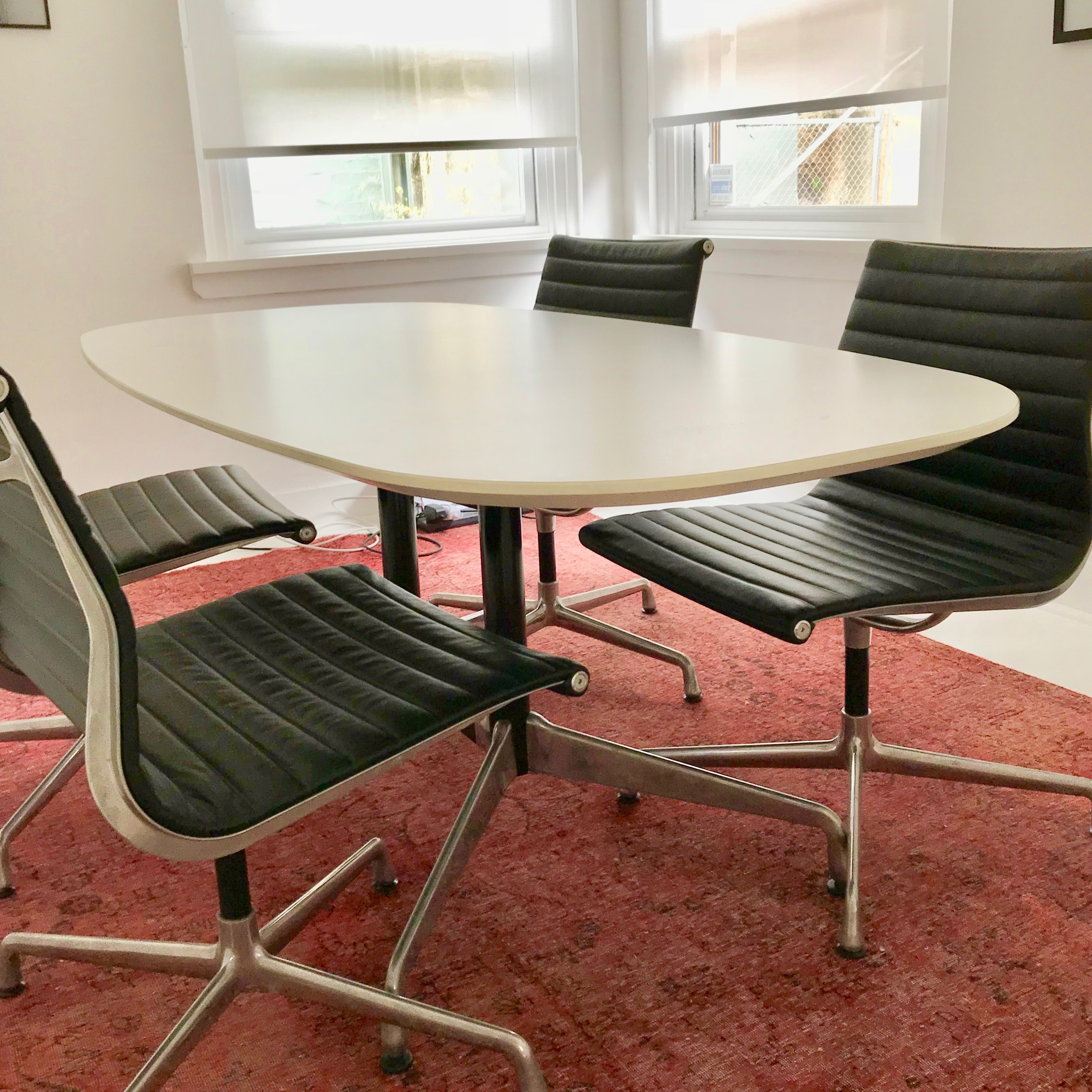 Eames Segmented Base Meeting Table by Herman Miller