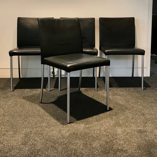 Set Of Four Jason Lite Dining Chairs By Eoos For Walter Knoll Home