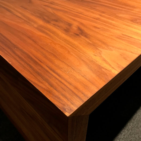 Timber Coffee Table with Metal Inset