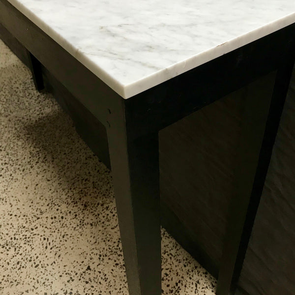 Marble Top Console through Coco Republic