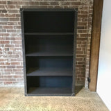 Mayfair Leather Bookcase by Restoration Hardware