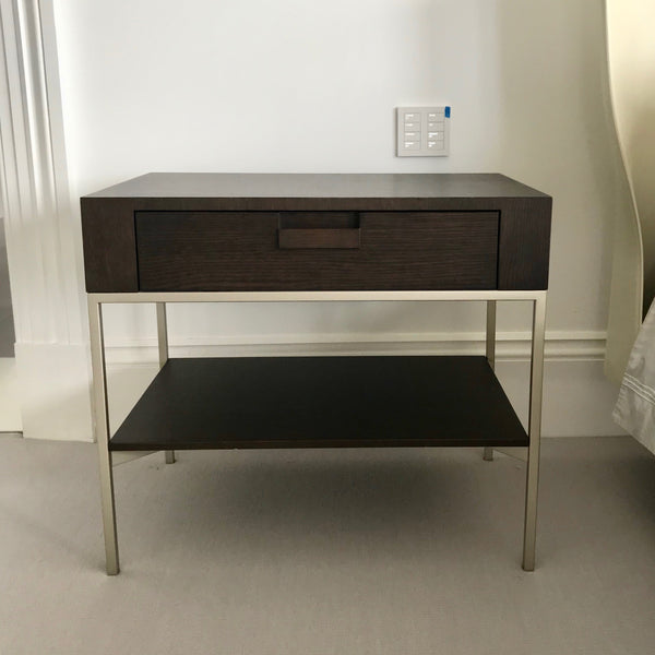 PAIR of Ebe [Apta Collection] Bedside Tables by Maxalto (B&B Italia)