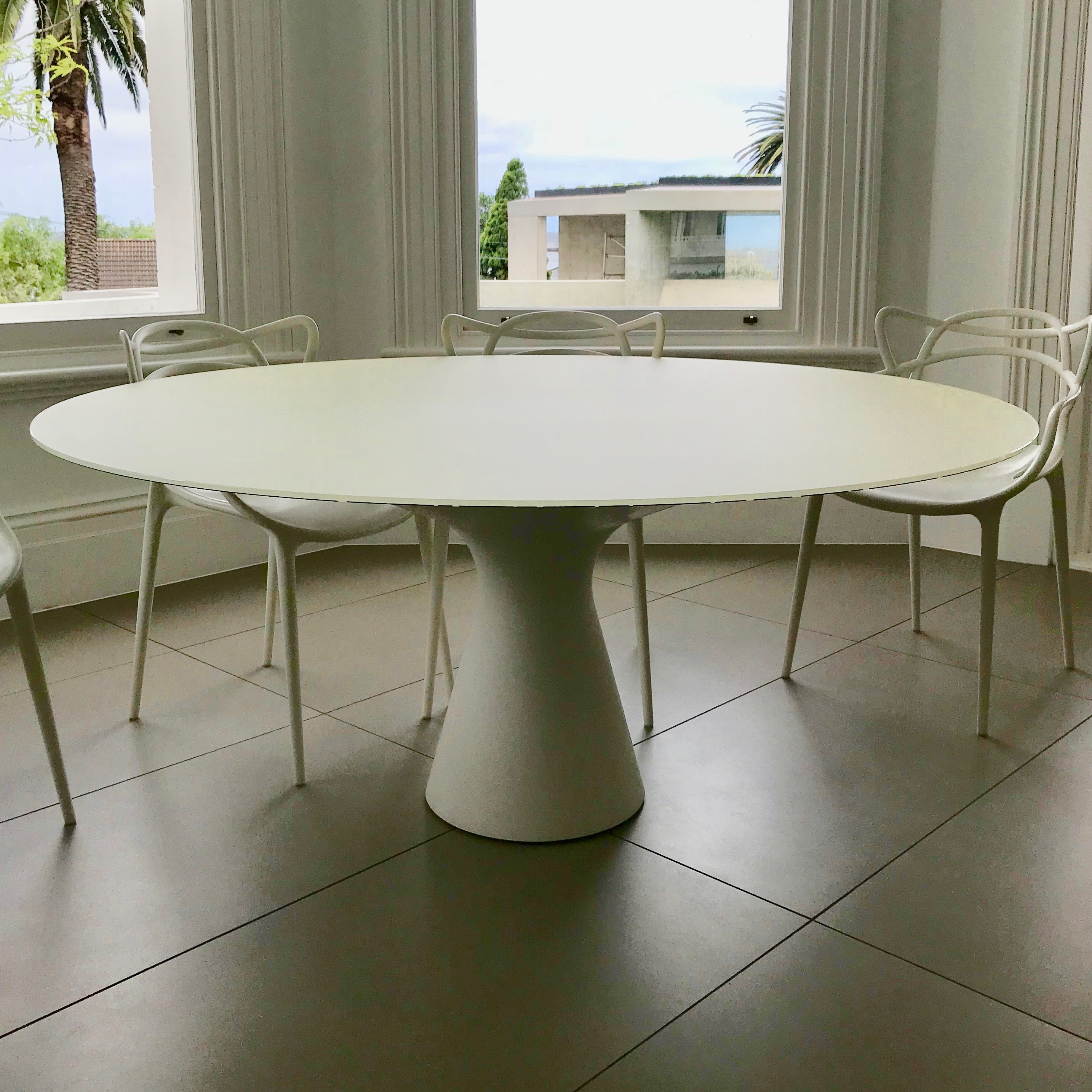 Blanco Dining Table by Jacopo Zibardi for Zanotta