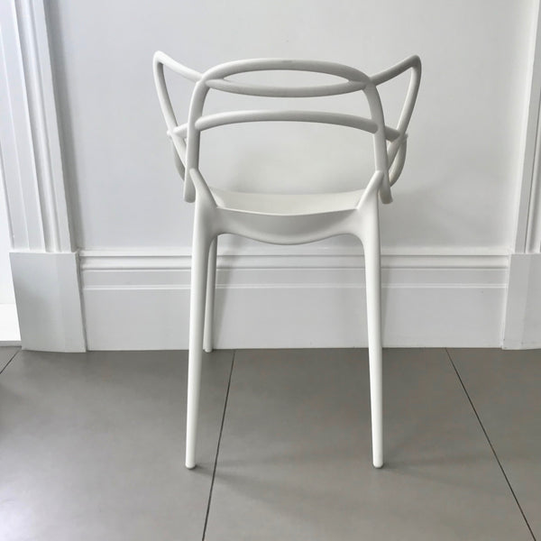 Set of SIX Master Chairs by Philippe Starck with Eugeni Quitllet for Kartell