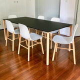 Boiacca Dining Table by Lucidi Pevere for Kristalia