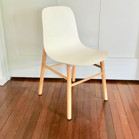 Set of SIX Sharky Dining Chairs by Kristalia